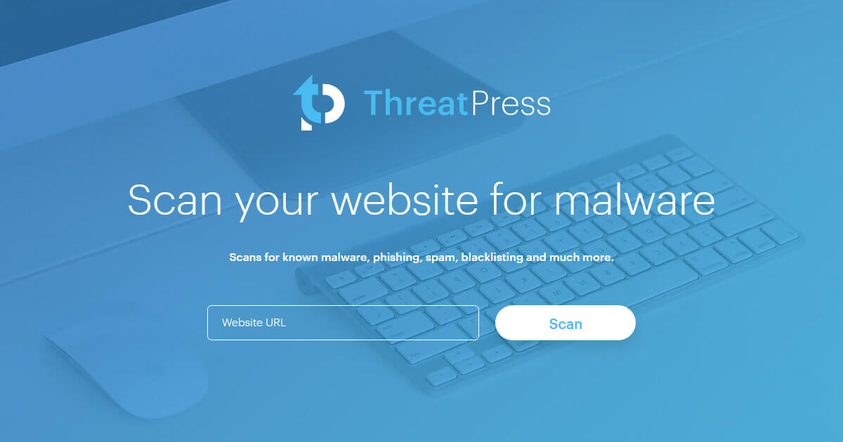ThreatPress SiteScan website