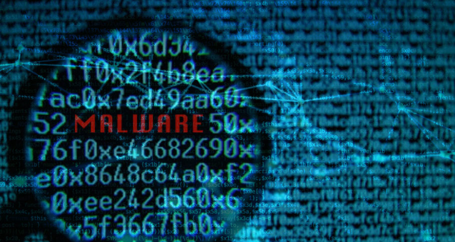 Malware - malicious software on hacked websites